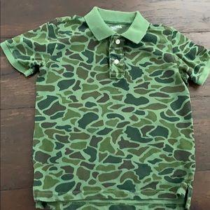 Green Camo Polo